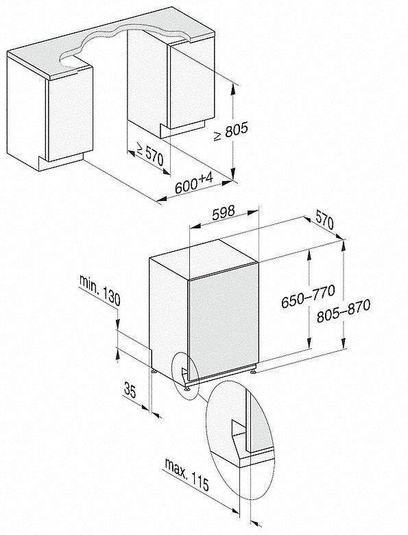 -s 3DMultiFlexladicom i 44 dB(A) za najveći komfor.-20000148120