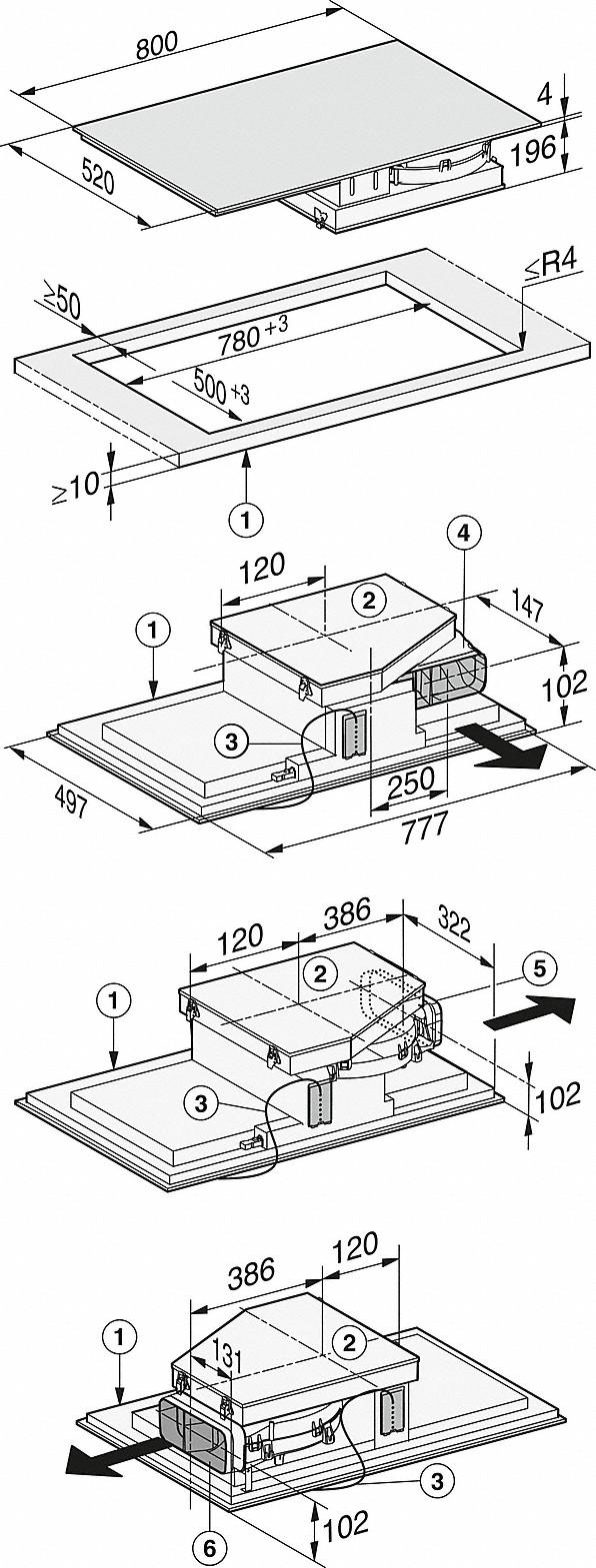 -s dva PowerFlex područja za kuhanje i jednim centralnim odvodom pare-20000133038